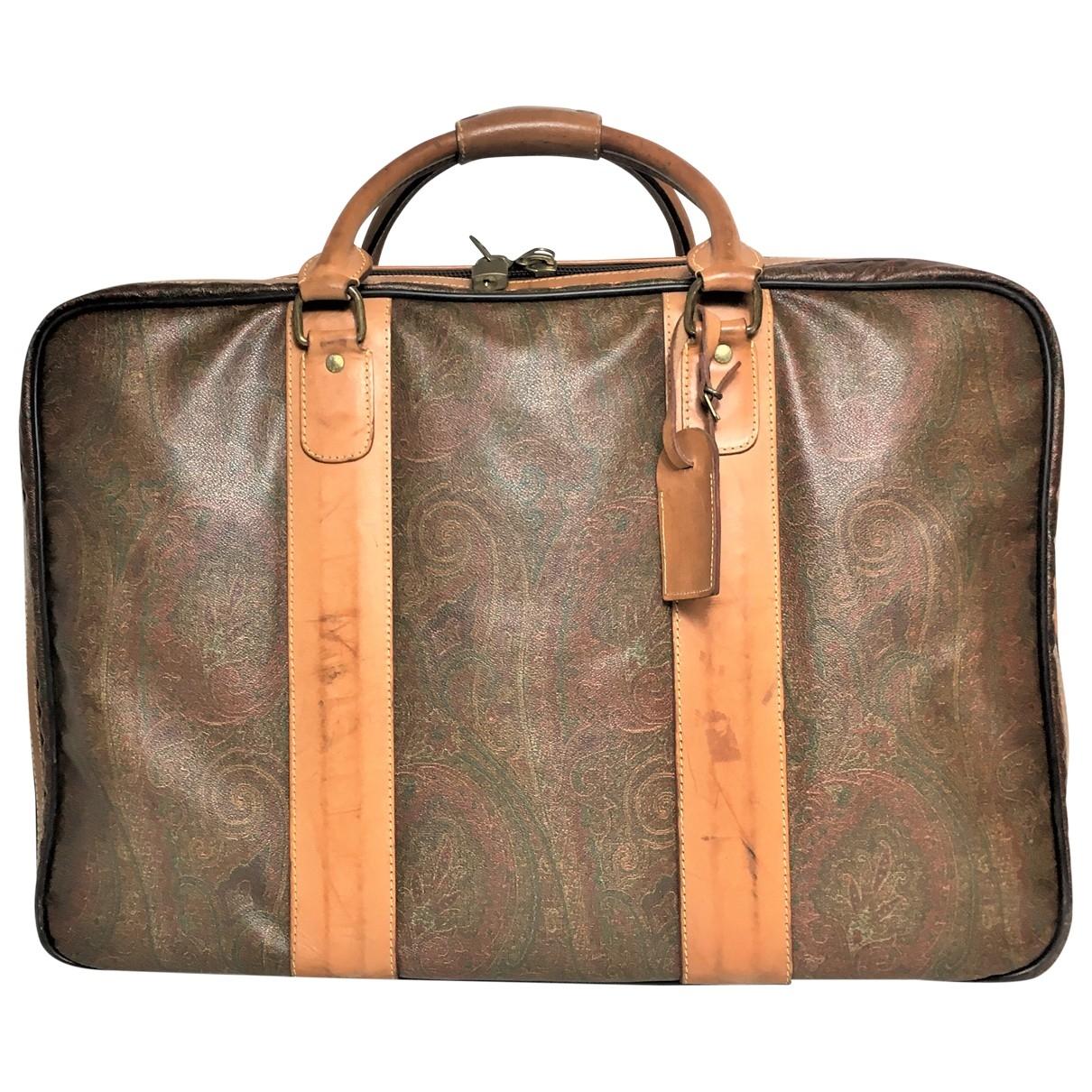 Etro \N Reisetasche in  Bunt Leder