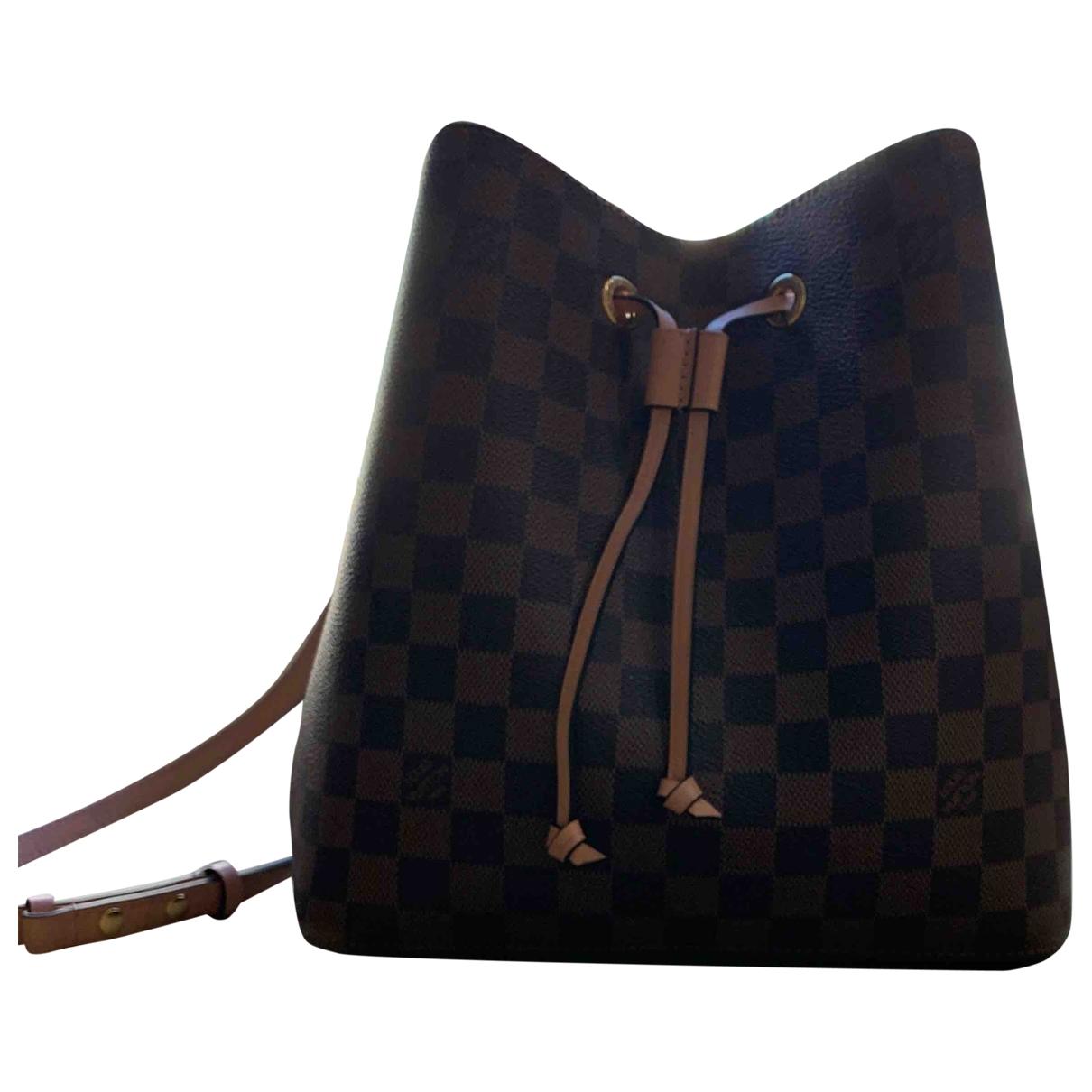 Bolso  NeoNoe de Lona Louis Vuitton