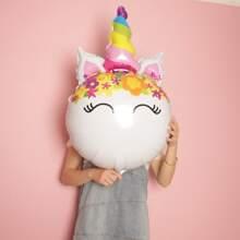 1pc Unicorn Shaped Balloon
