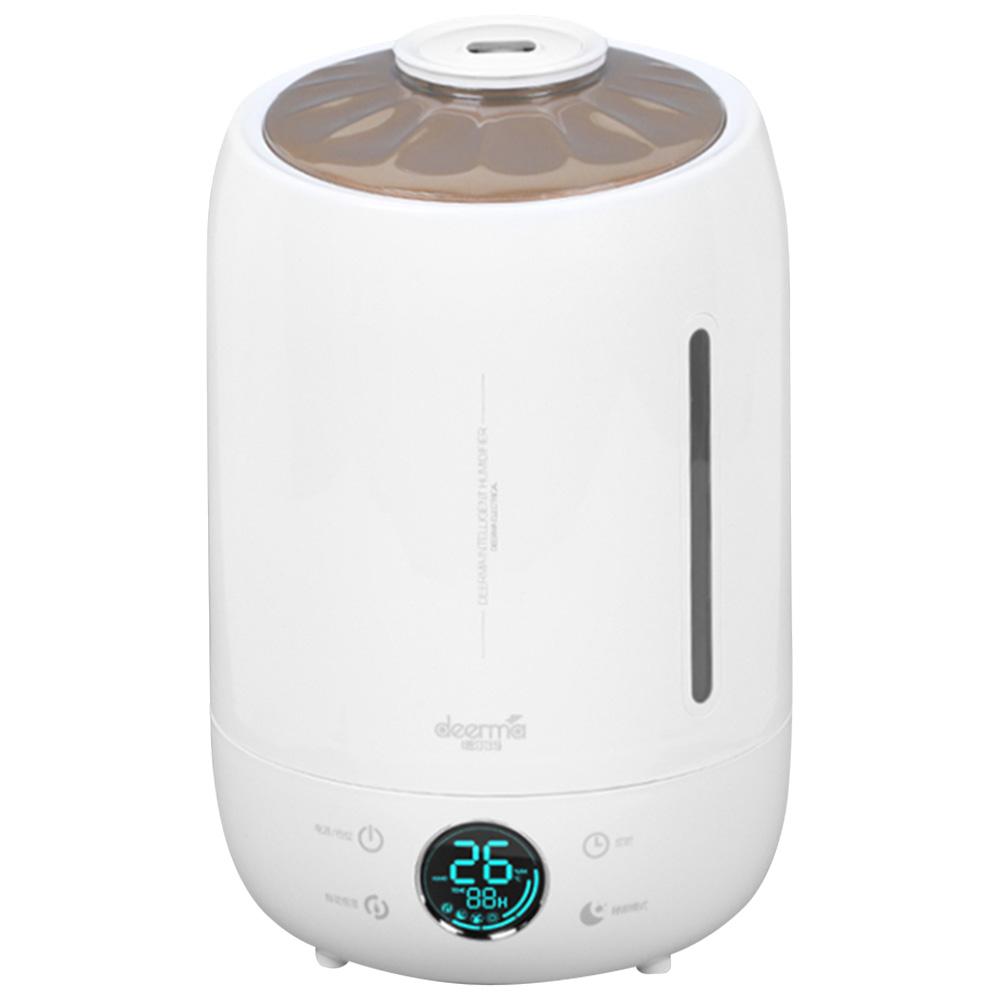 DEERMA DEM F500 Household Ultrasonic Humidifier 5L Capacity Aromatherapy Machine Updated Version - White