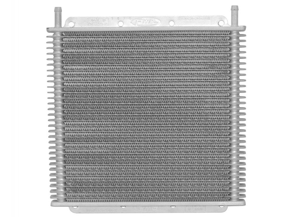 Trans Oil Cooler Kit 11 in (280mm) x 10 in (255mm) x 3/4 in (19mm) 3/8 in Push On Barb
