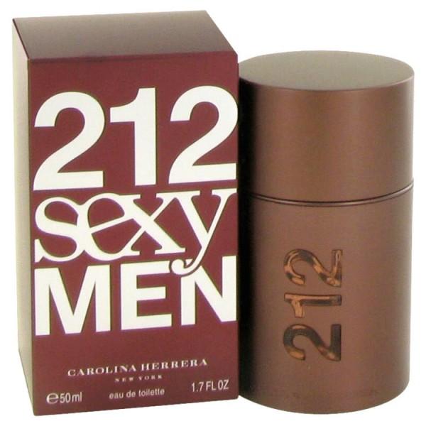 212 Sexy Men - Carolina Herrera Eau de Toilette Spray 50 ML
