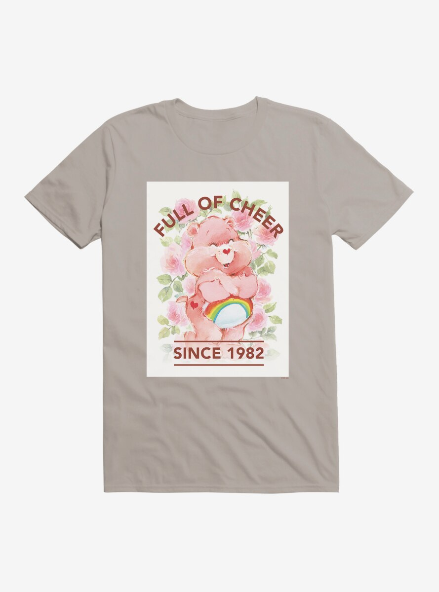 Care Bears Full Of Cheer Floral T-Shirt