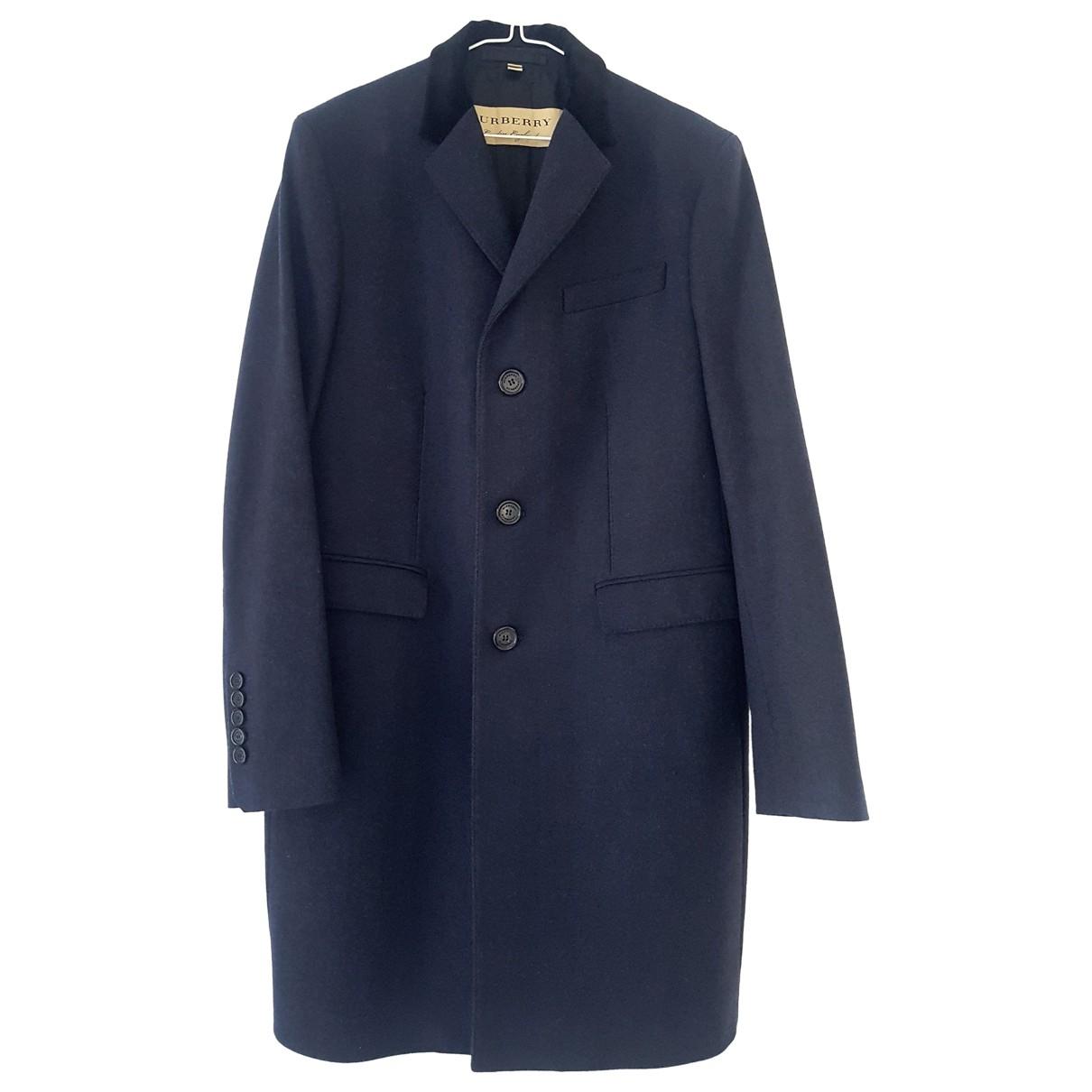 Burberry - Manteau   pour homme en cachemire - marine