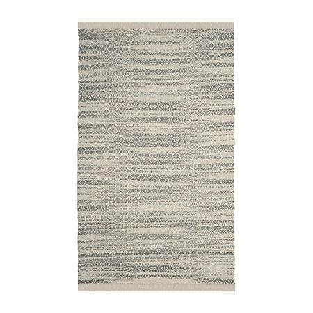 Safavieh Kimberlyn Striped Cotton Rug, One Size , Gray