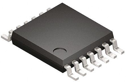 DiodesZetex 74LV14AT14-13, , Hex Schmitt Trigger, Push-Pull CMOS Inverter, 14-Pin TSSOP (50)