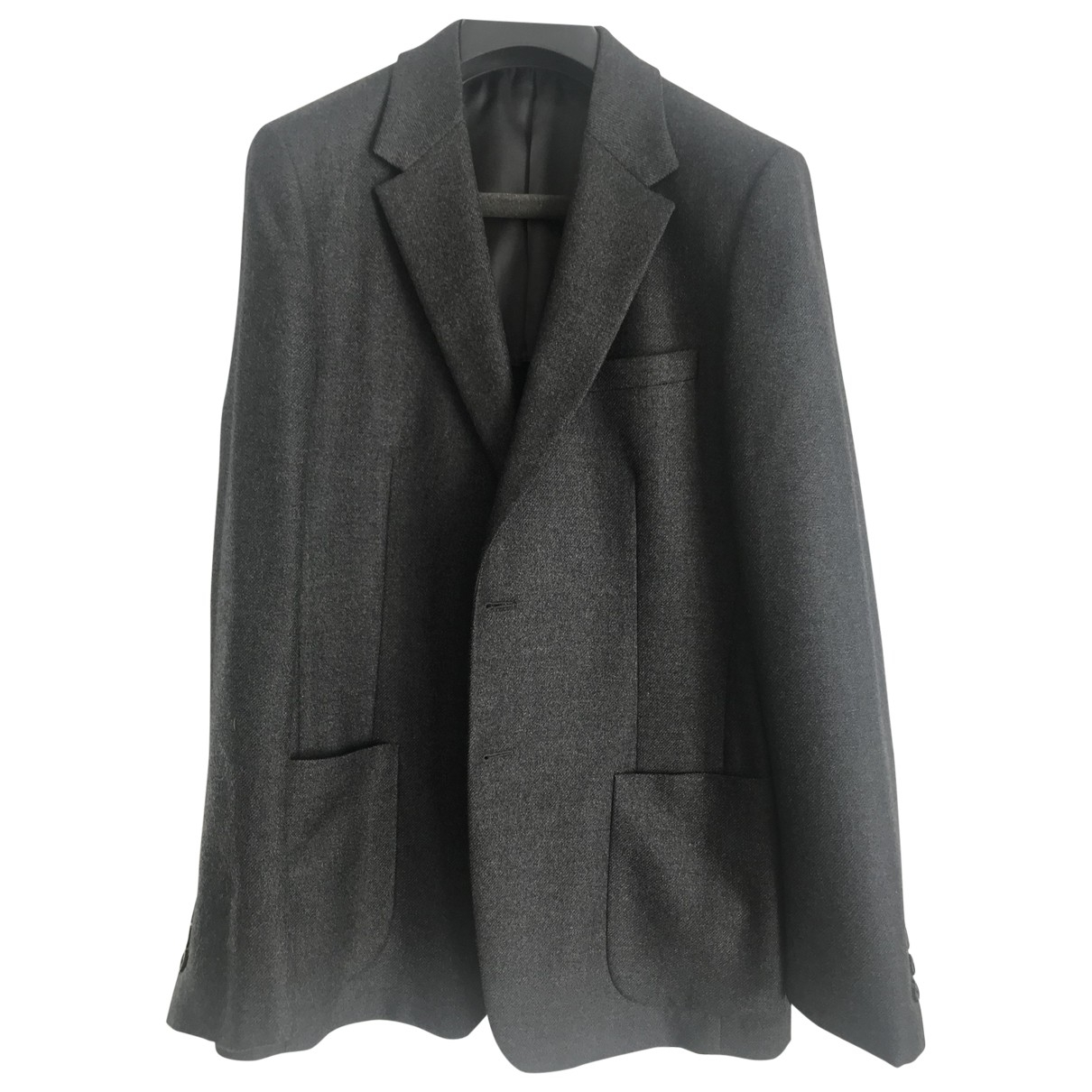 Prada \N Jacke in  Grau Wolle