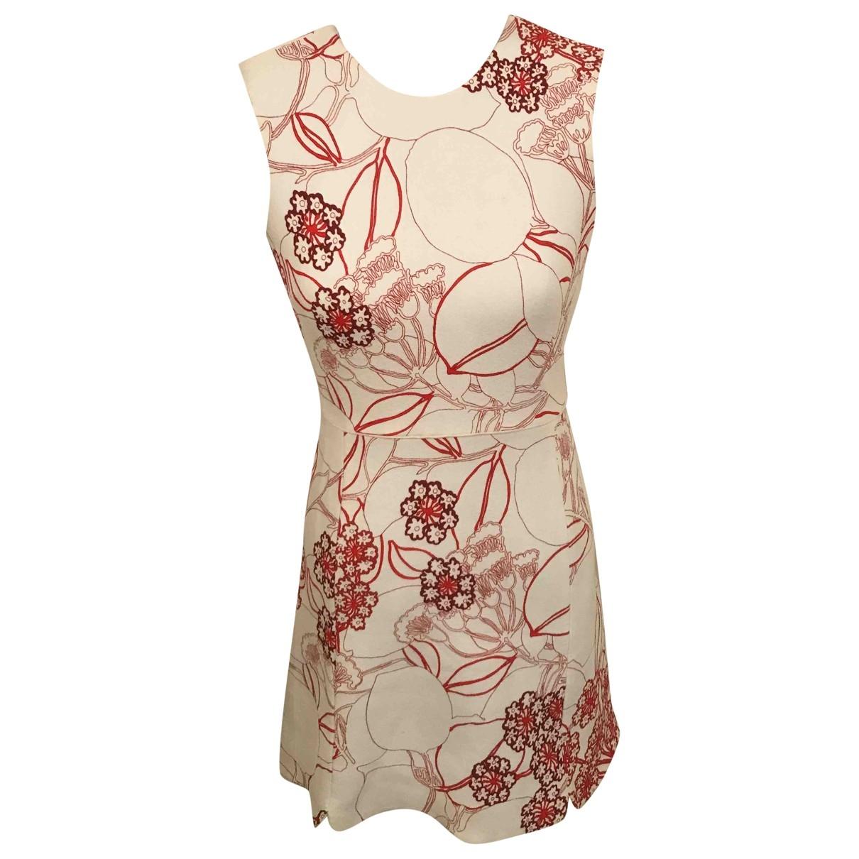Giambattista Valli \N White Silk dress for Women 40 IT