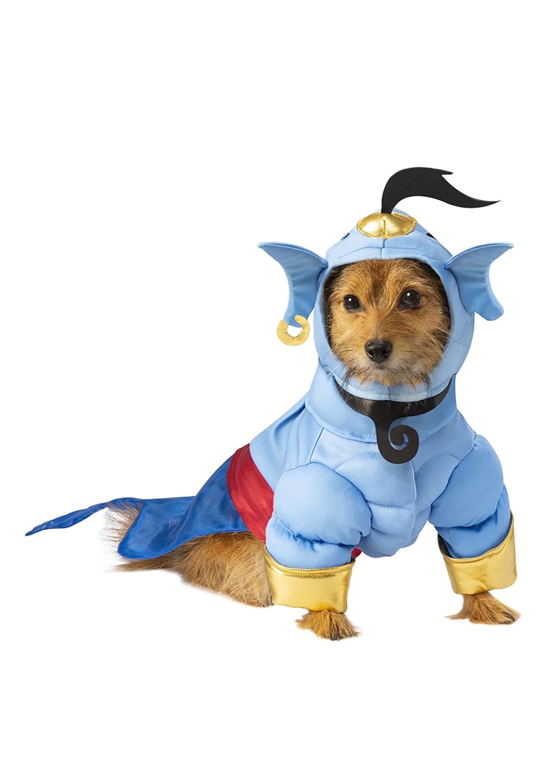 Aladdin Dog Genie Costume