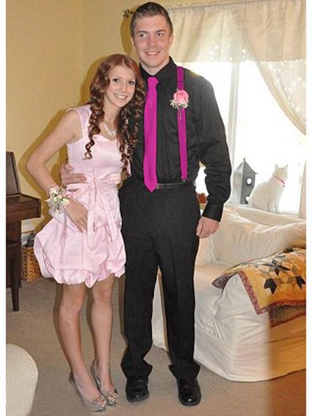 High7School Homecoming Outfits For Guys Casual Package Red-Violet
