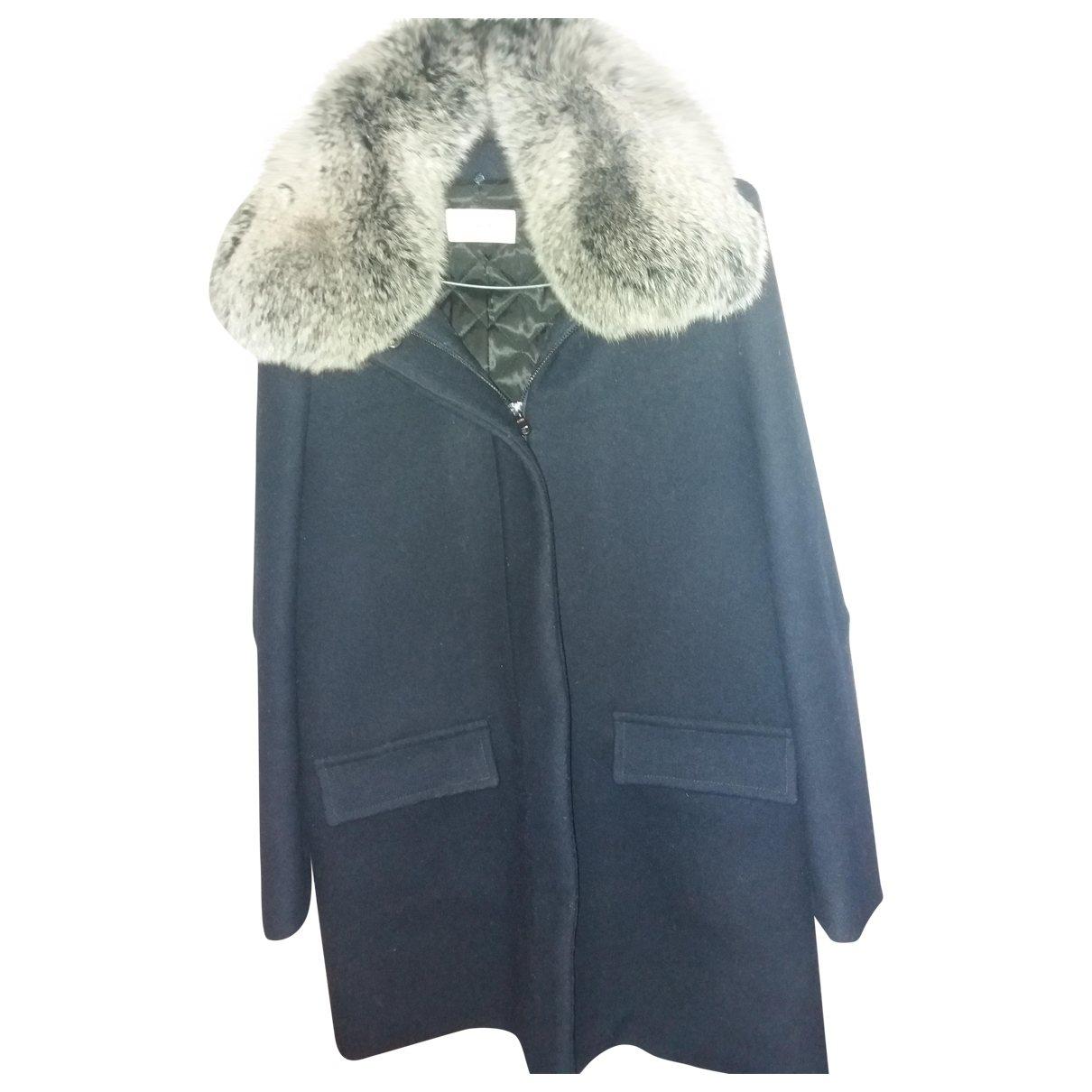 Zapa \N Navy Wool coat for Women 36 FR