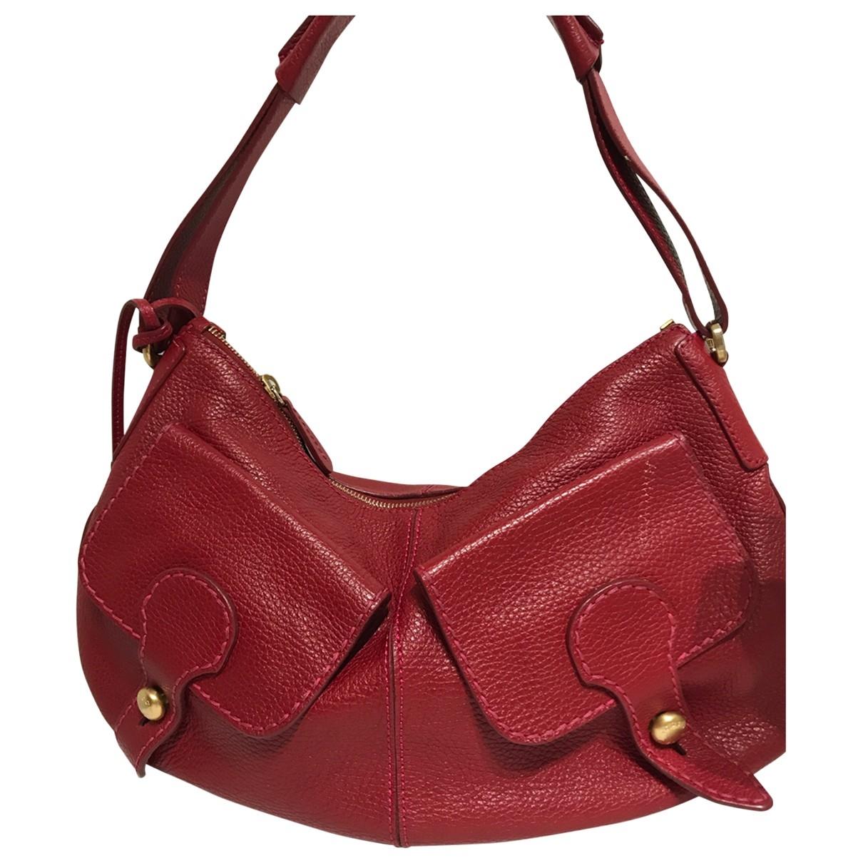 Tod's \N Red Leather handbag for Women \N