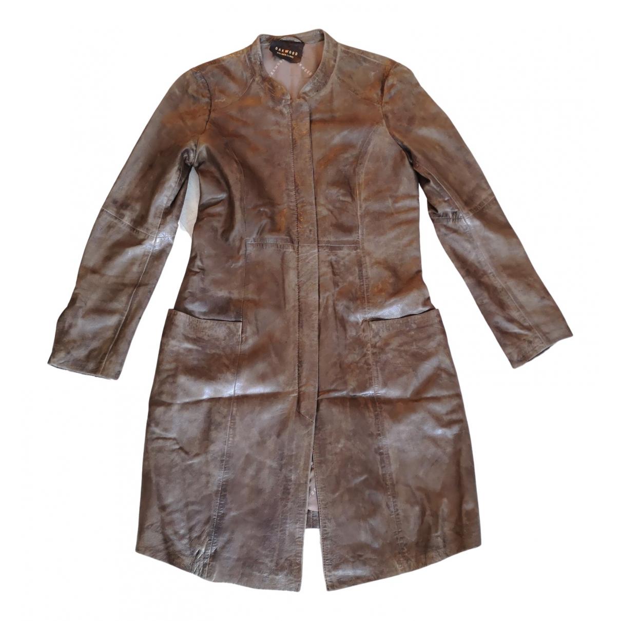 Oakwood \N Brown Leather coat for Women M International
