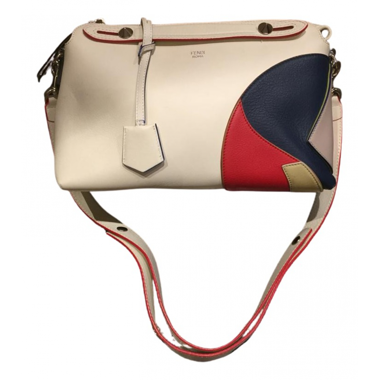 Fendi By The Way  White Leather handbag for Women N