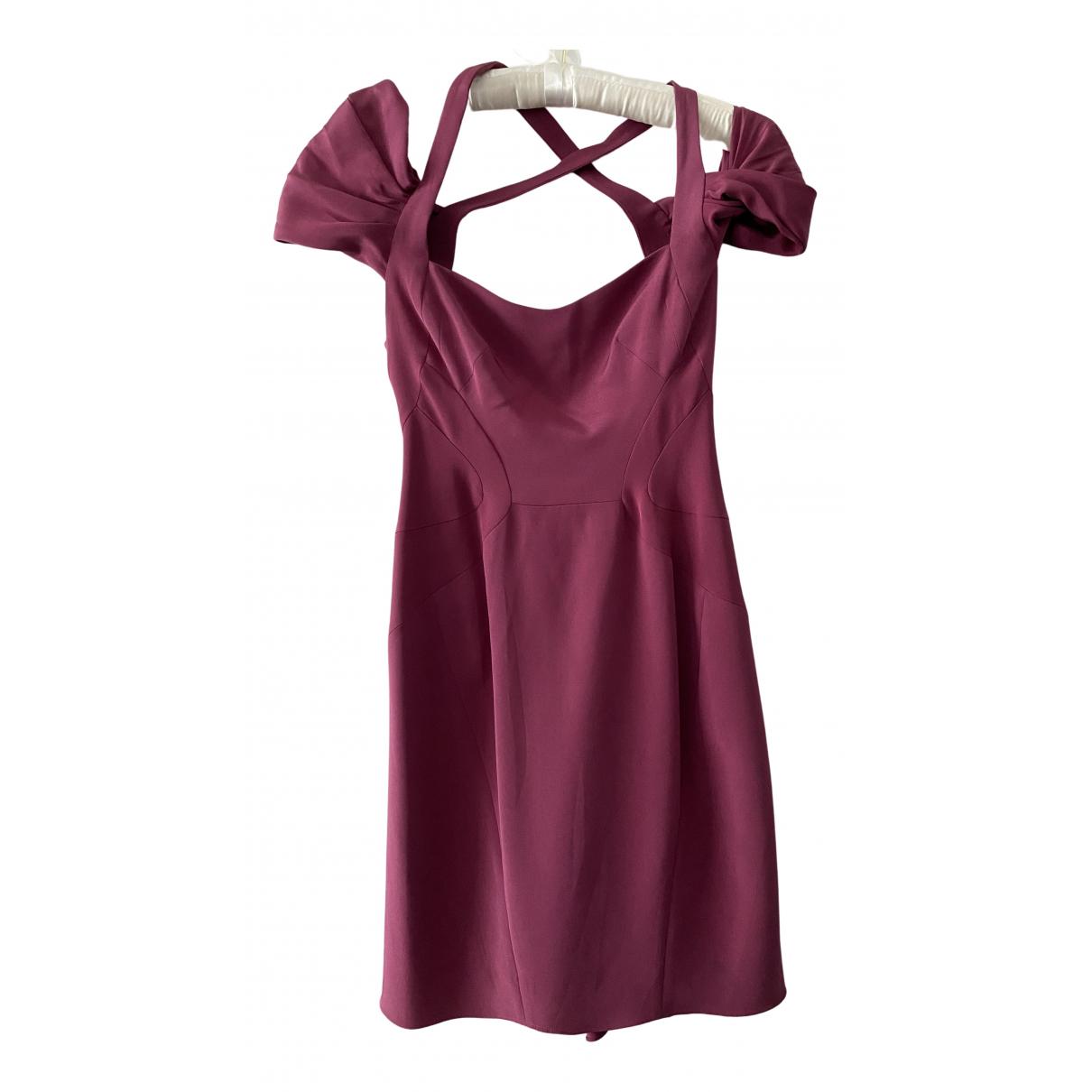 Zac Posen \N Kleid in  Lila Seide