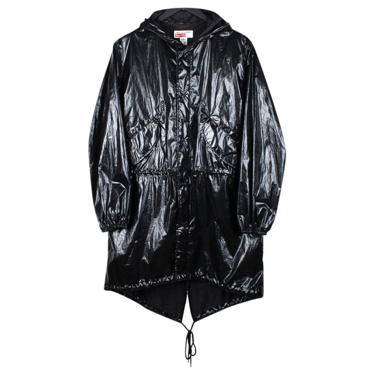 Supreme X Comme Des Garçons \N Black coat  for Men M International