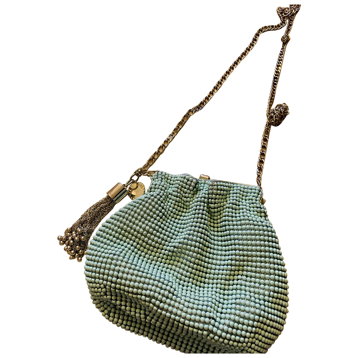 Reiss - Pochette   pour femme en metal - vert