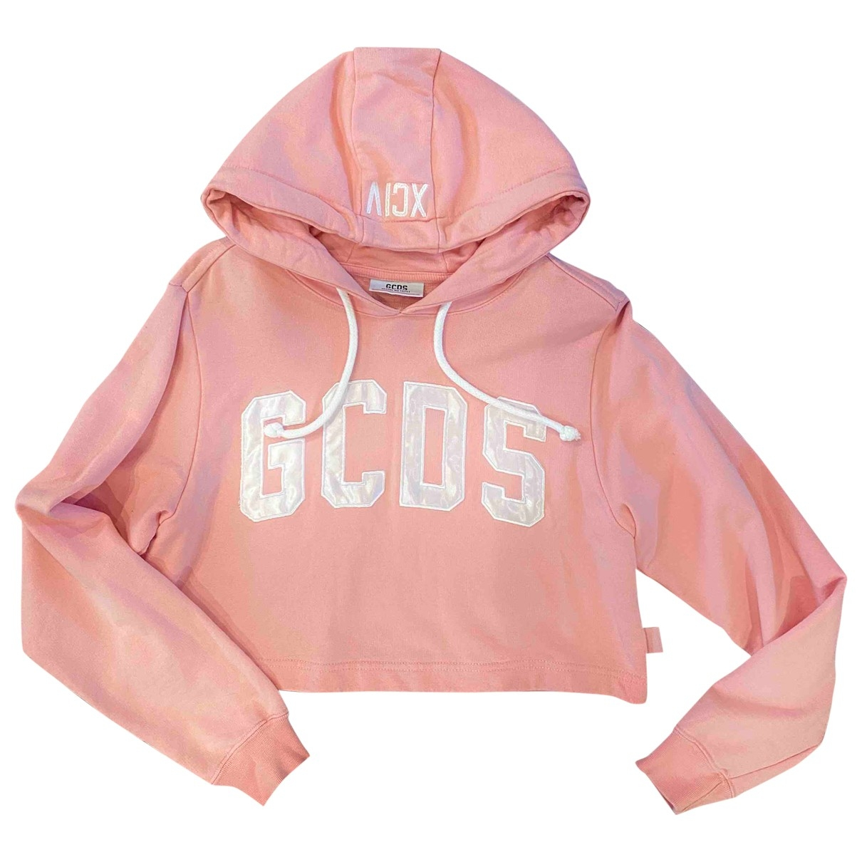 Gcds - Pull   pour femme en coton - rose