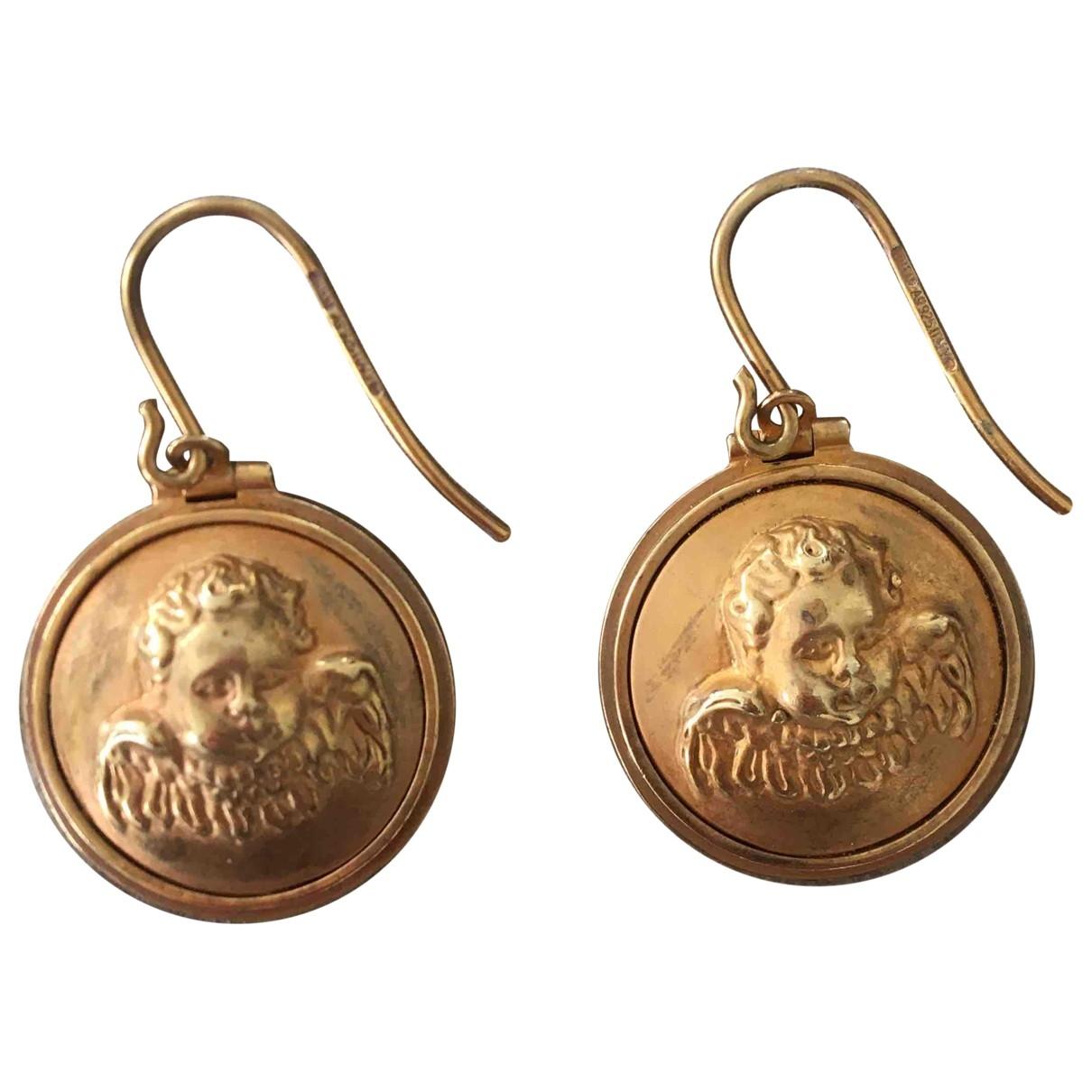Bottega Veneta \N Gold gold and steel Earrings for Women \N