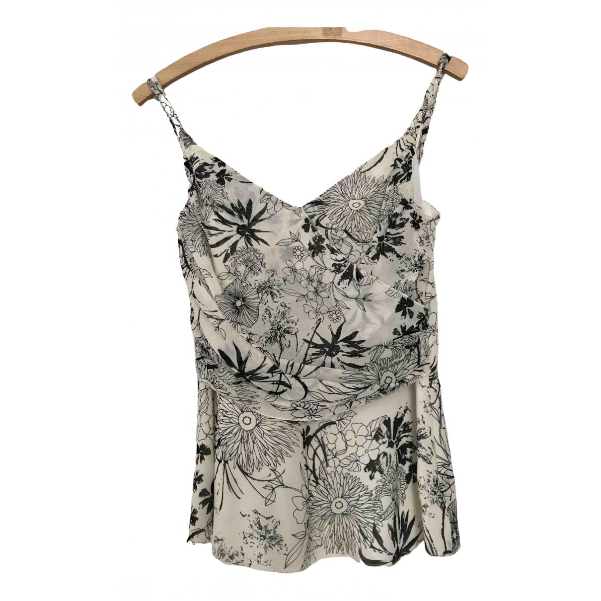Marella \N Ecru Silk  top for Women 40 IT