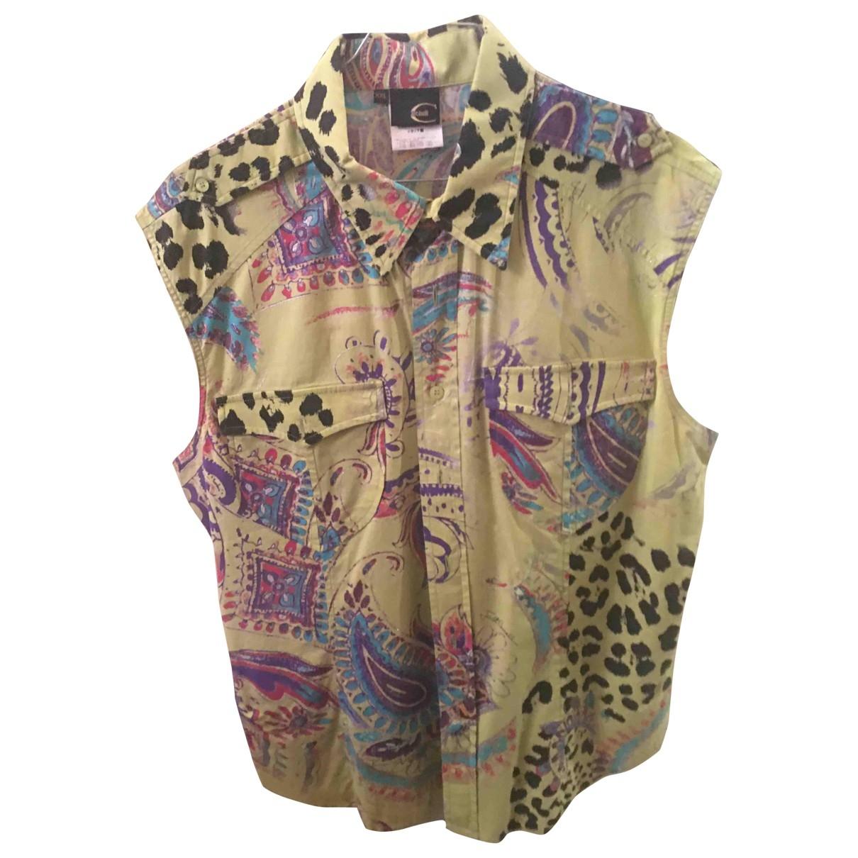 Just Cavalli \N Hemden in  Gruen Baumwolle