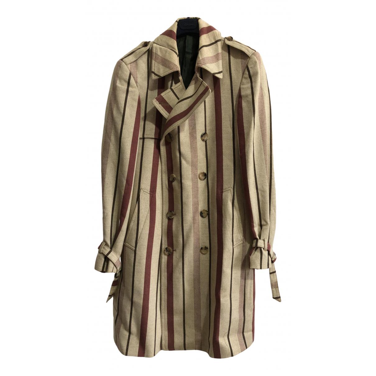 Moschino - Manteau   pour homme en coton - multicolore