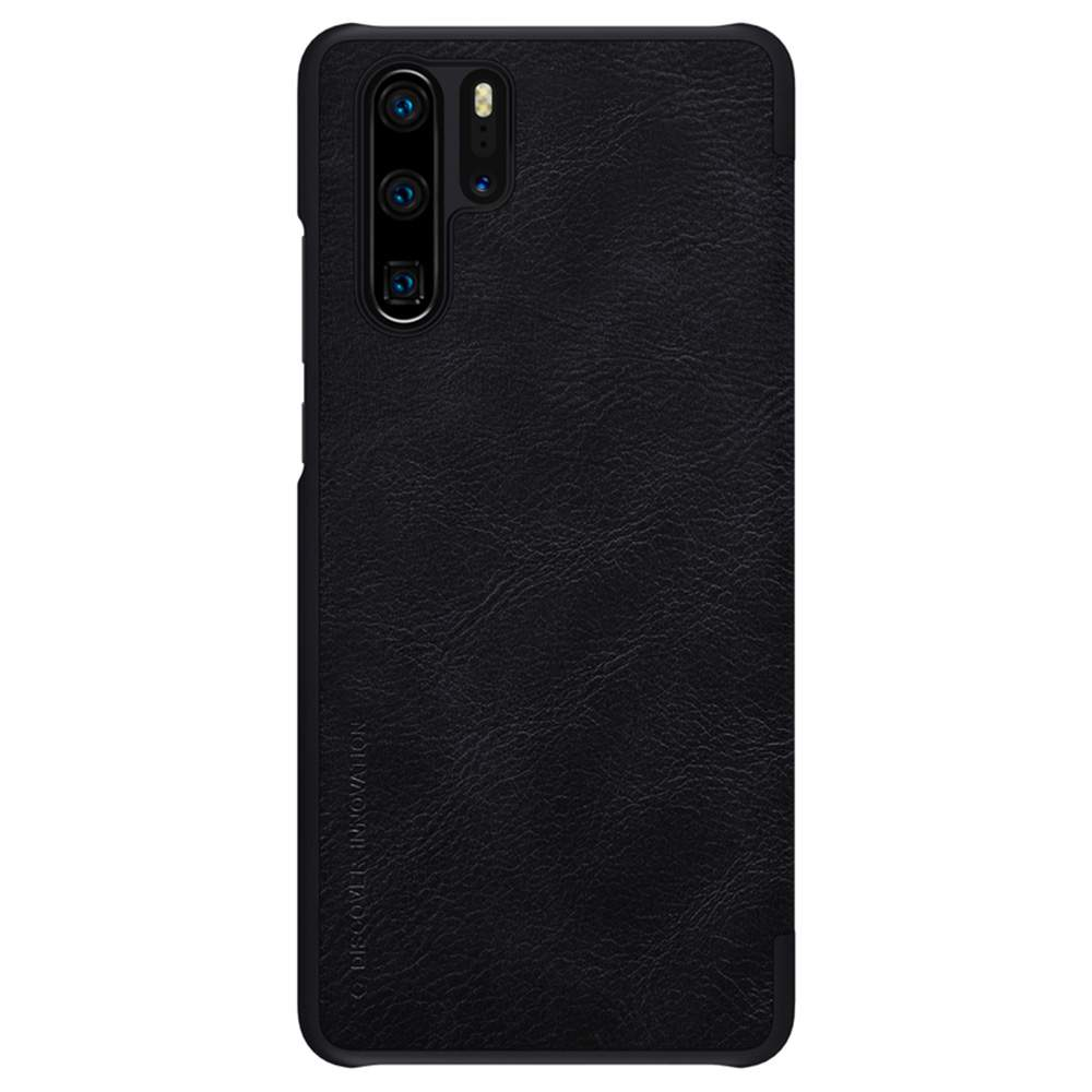 NILLKIN Protective Leather Phone Case For HUAWEI P30 Pro Smartphone - Black