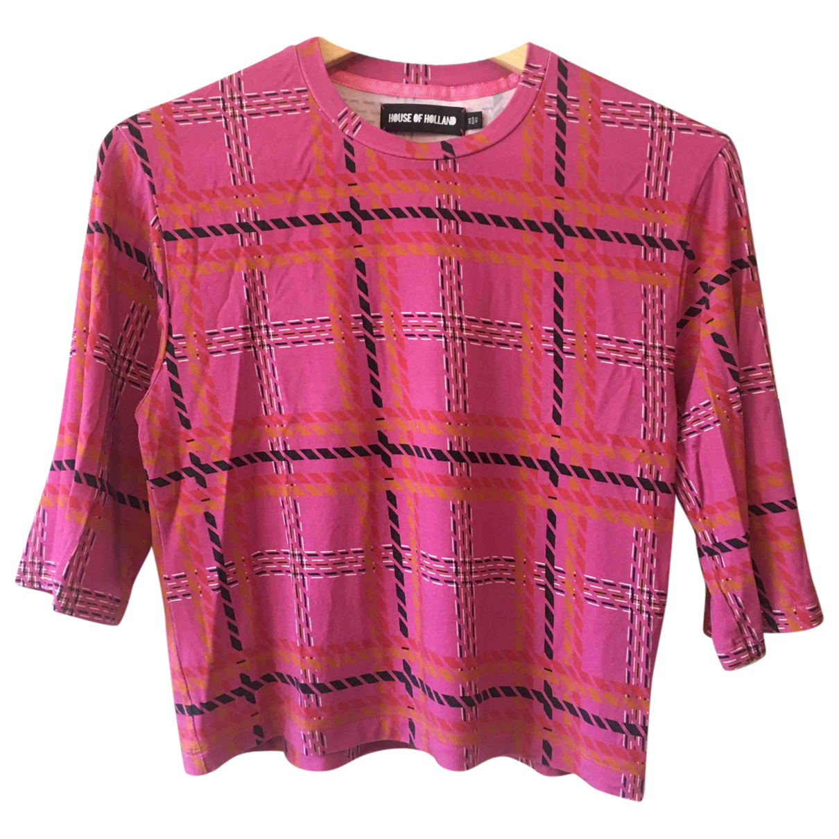 House Of Holland N Pink  top for Women 6 UK
