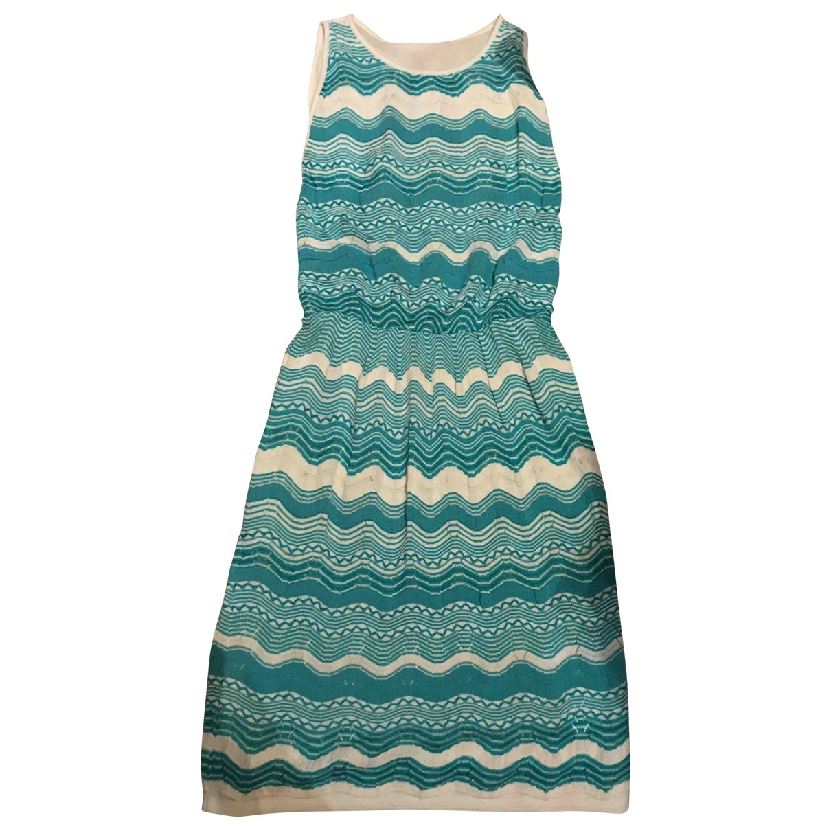 M Missoni \N Turquoise Cotton dress for Women 38 FR