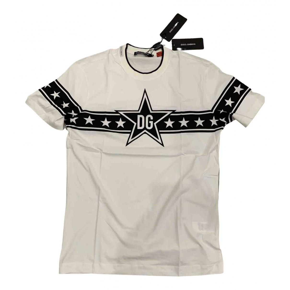 Dolce & Gabbana \N T-Shirts in  Beige Baumwolle