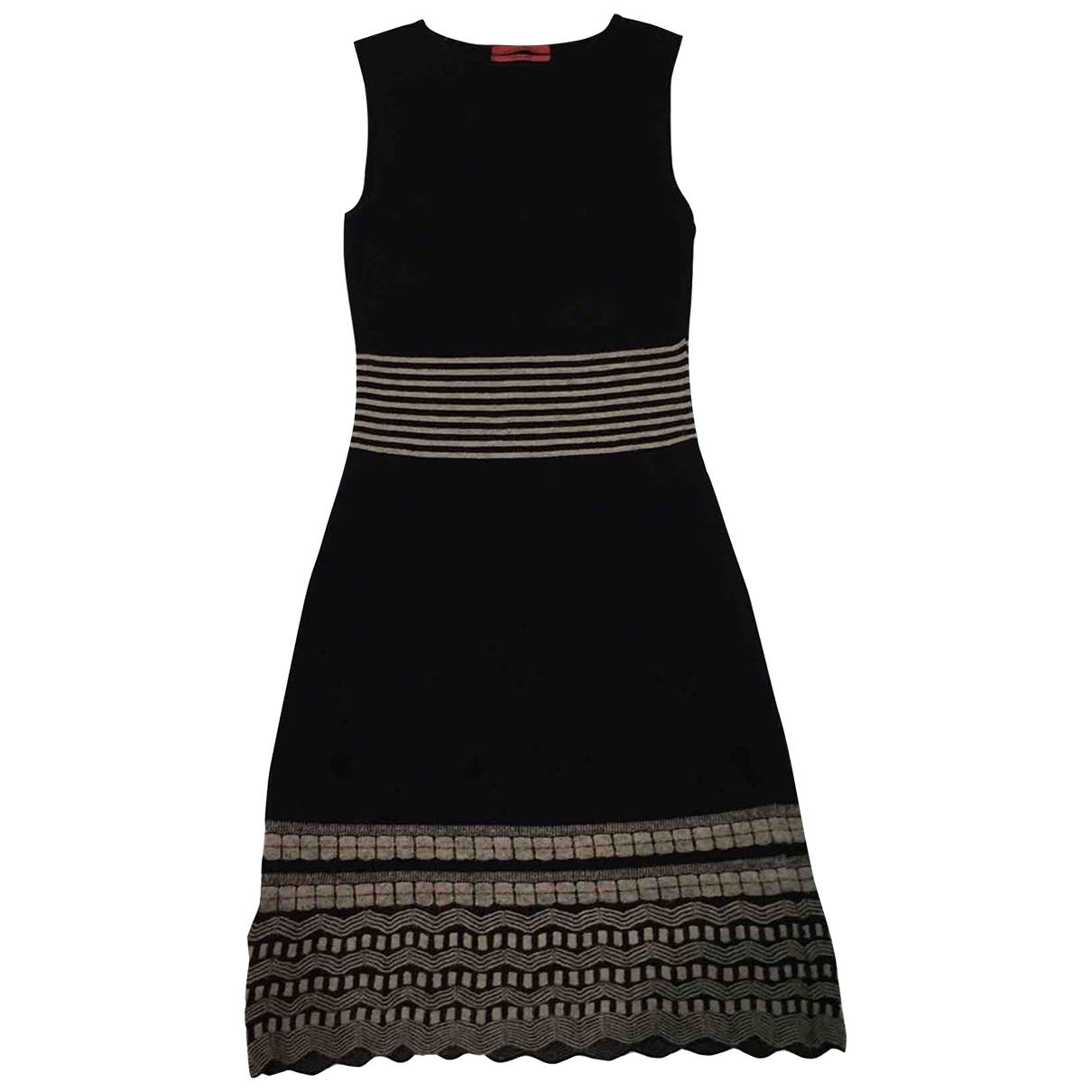 Carolina Herrera \N Kleid in  Schwarz Viskose