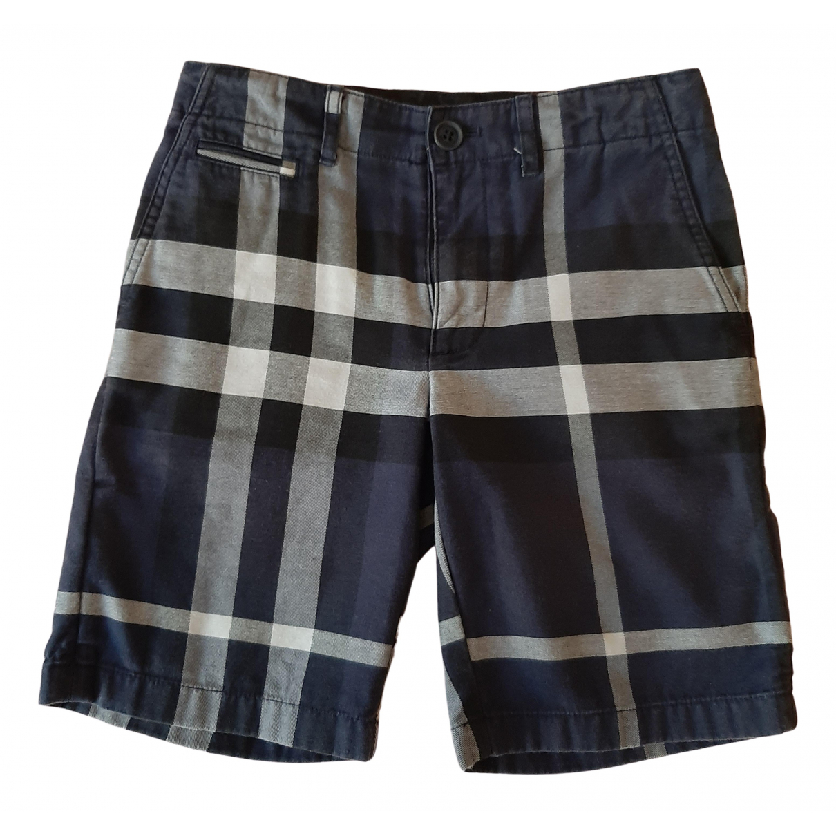 Burberry \N Blue Cotton Shorts for Kids 8 years - until 50 inches UK