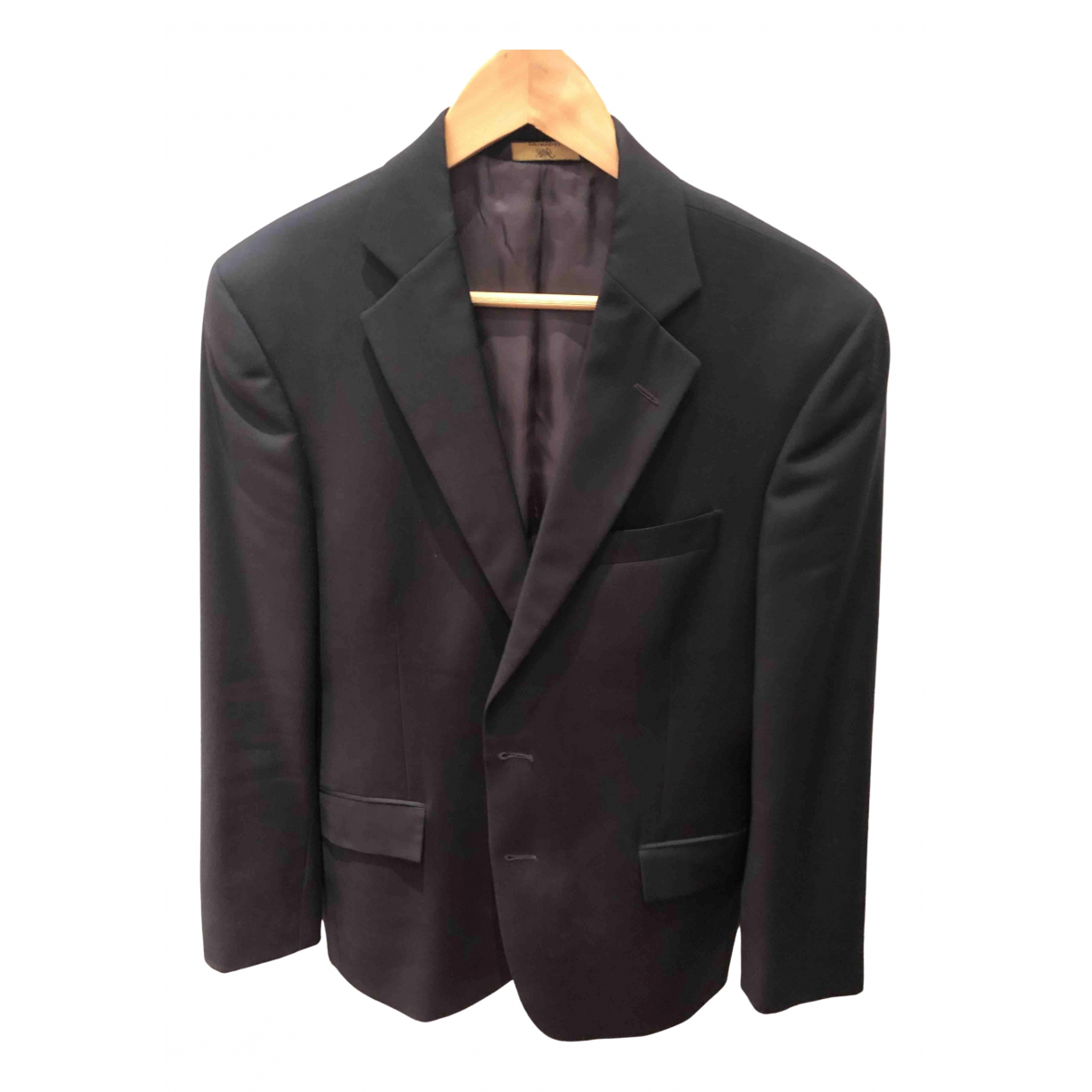 Brooks Brothers \N Navy Wool jacket  for Men 38 UK - US