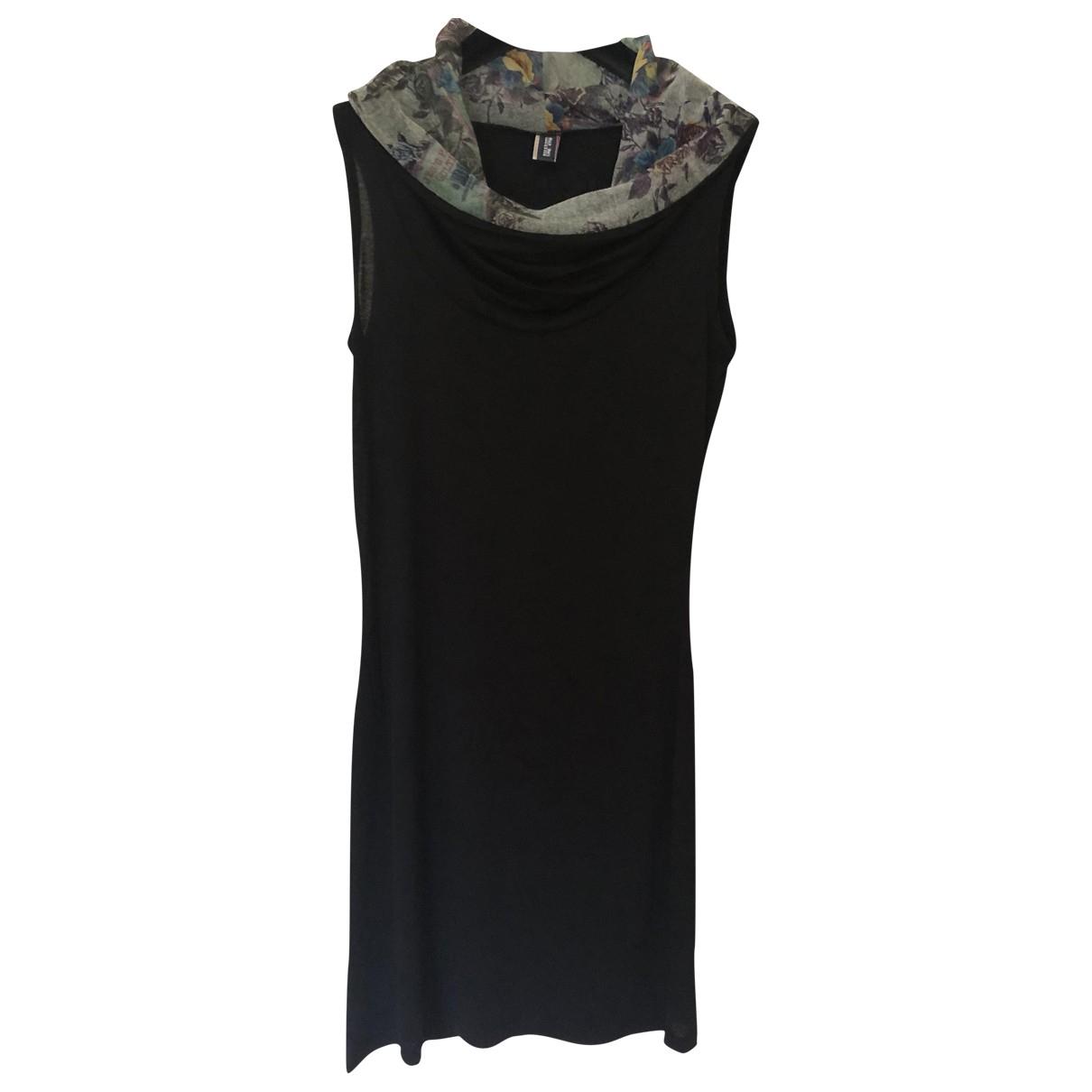 Jean Paul Gaultier \N Black Cotton - elasthane dress for Women 40 IT
