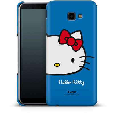 Samsung Galaxy J4 Plus Smartphone Huelle - Hello Kitty Closeup von Hello Kitty