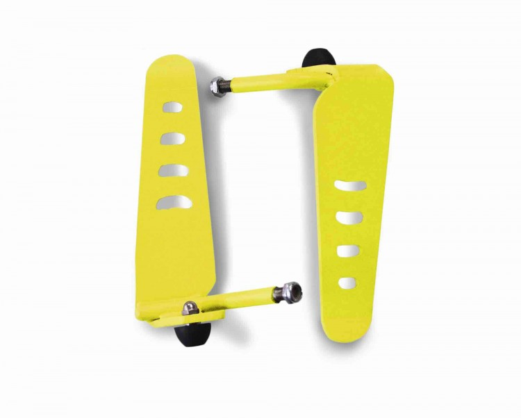 Steinjager J0043886 Foot Rest Kit Wrangler TJ 1997-2006 Metal Design Lemon Peel