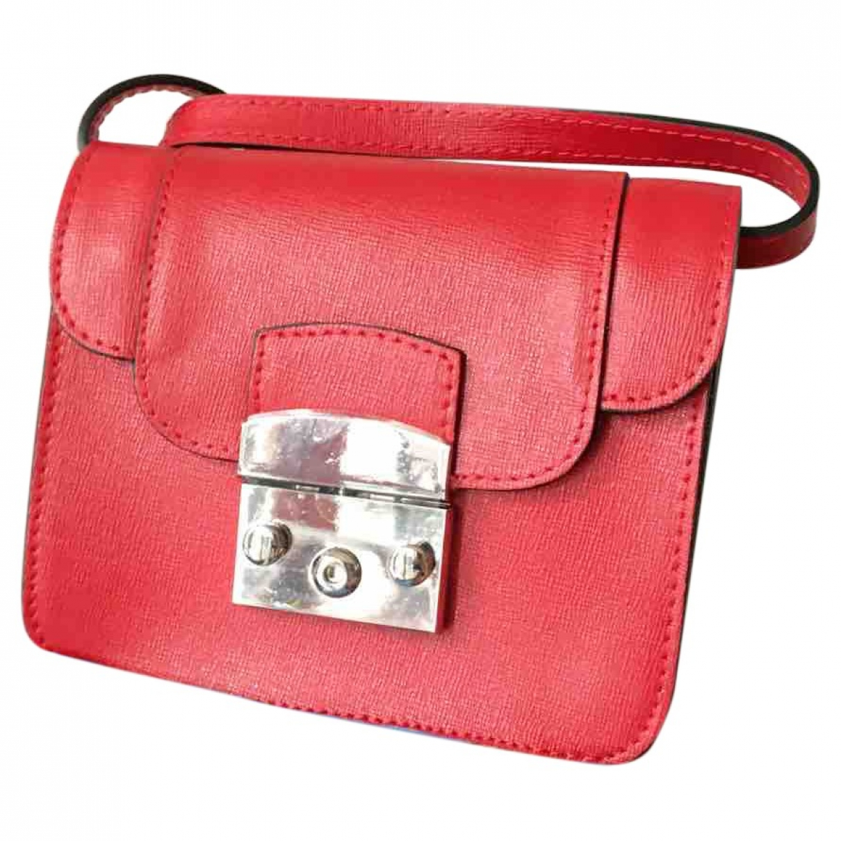 Non Signé / Unsigned \N Red Clutch bag for Women \N