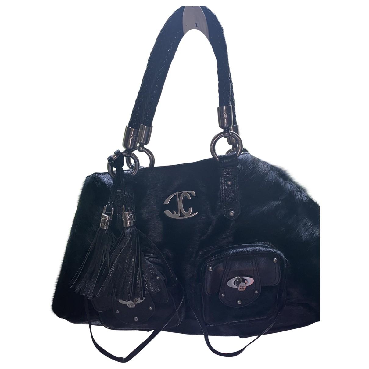 Just Cavalli \N Handtasche in  Schwarz Fell