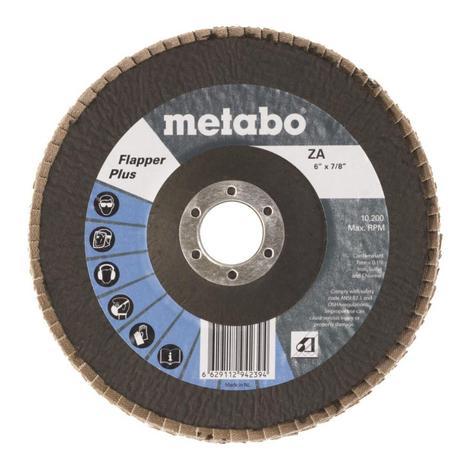 Metabo 6 In. Flapper Plus 60 7/8 T29 Fiberglass