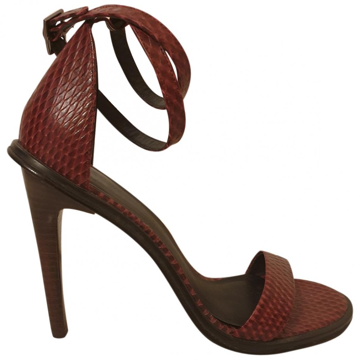 Tibi - Sandales   pour femme en cuir