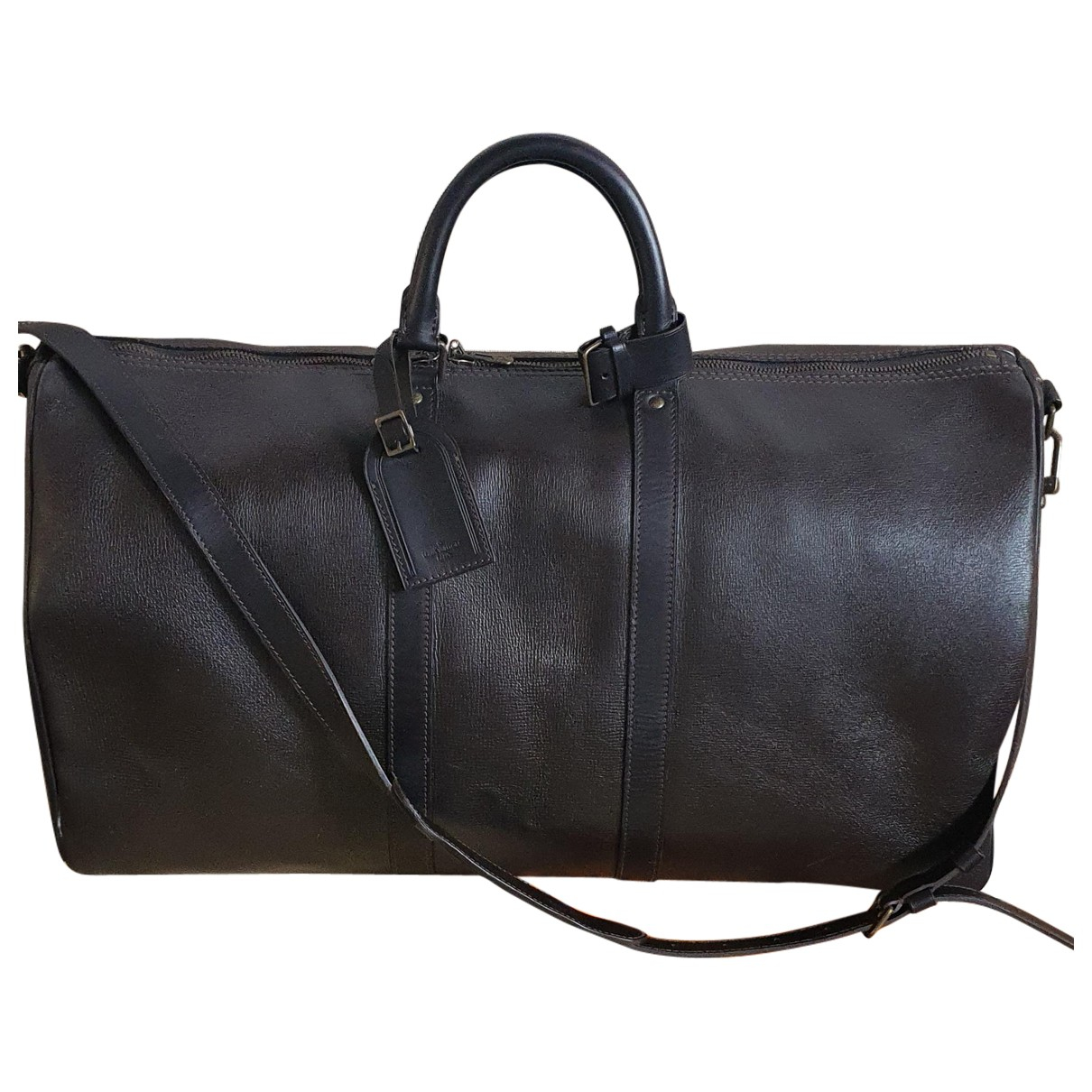 Louis Vuitton Keepall Brown Leather bag for Men \N