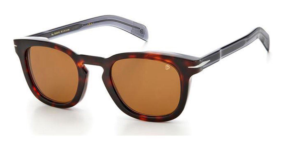 David Beckham DB 7030/S AB8/70 Men's Sunglasses Tortoise Size 49
