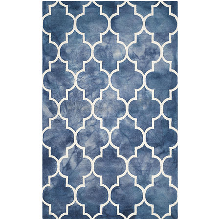 Safavieh Dip Dye Collection Sierra Geometric Area Rug, One Size , Multiple Colors