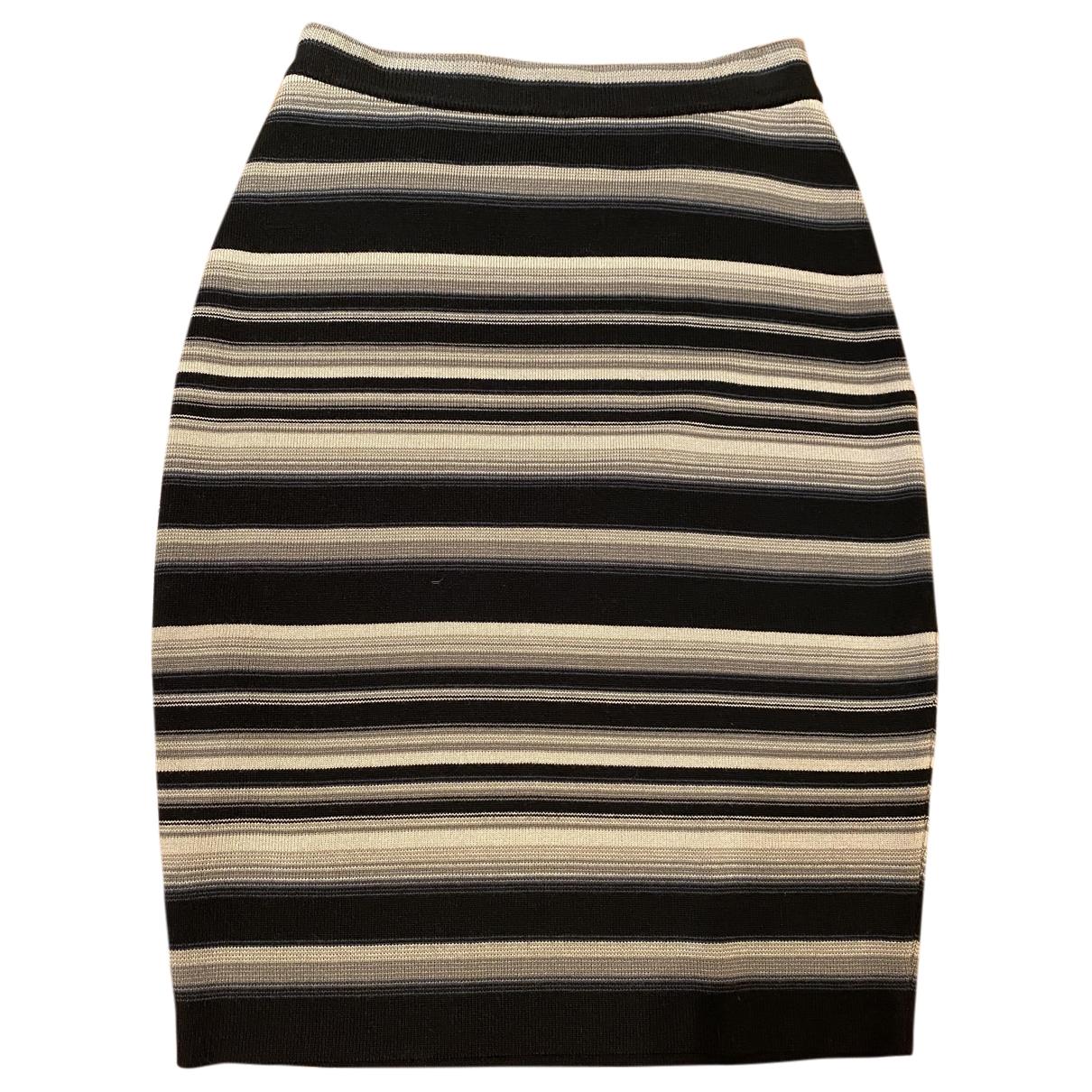 Givenchy \N Rocke in  Schwarz Wolle