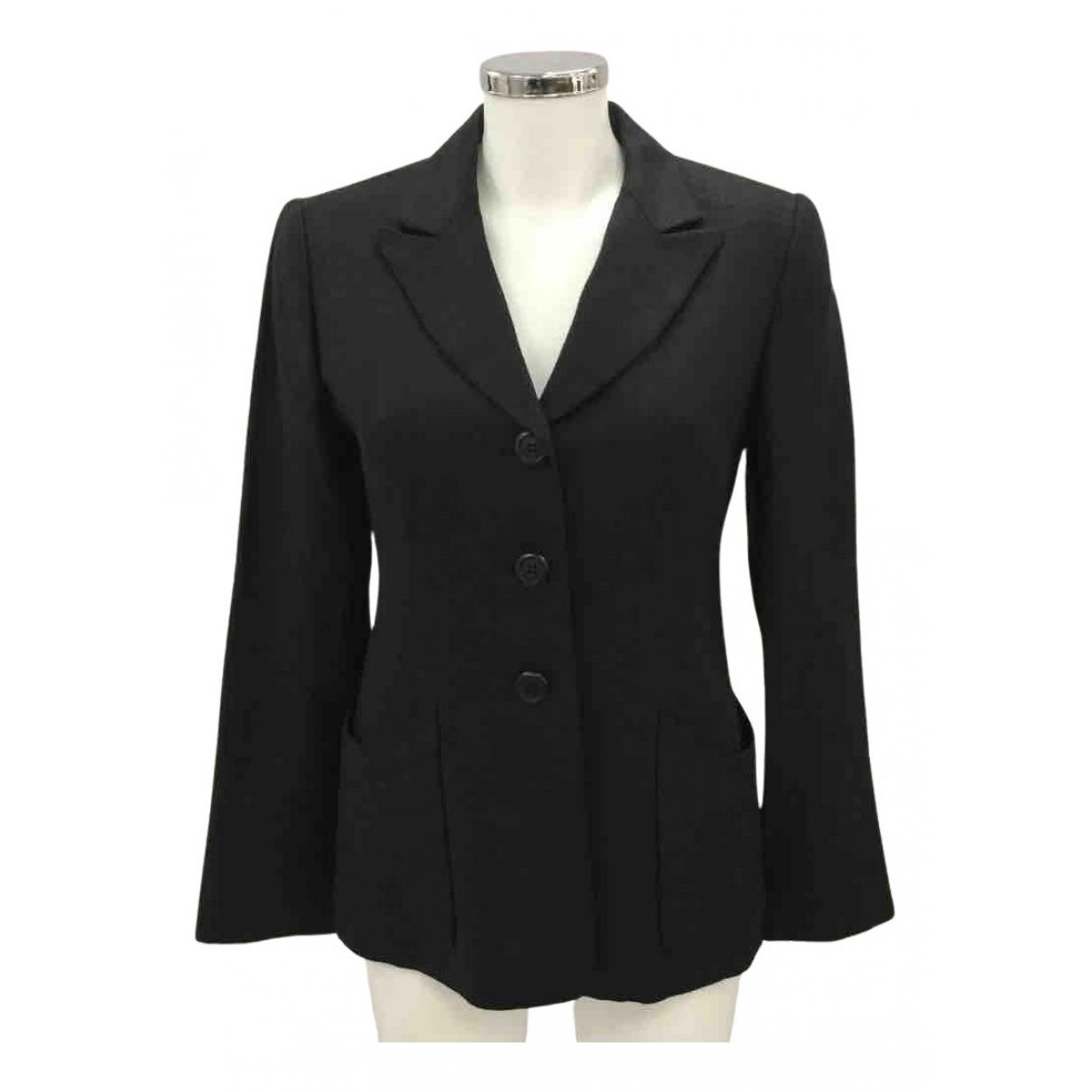 Hobbs N Black Linen jacket for Women 10 UK