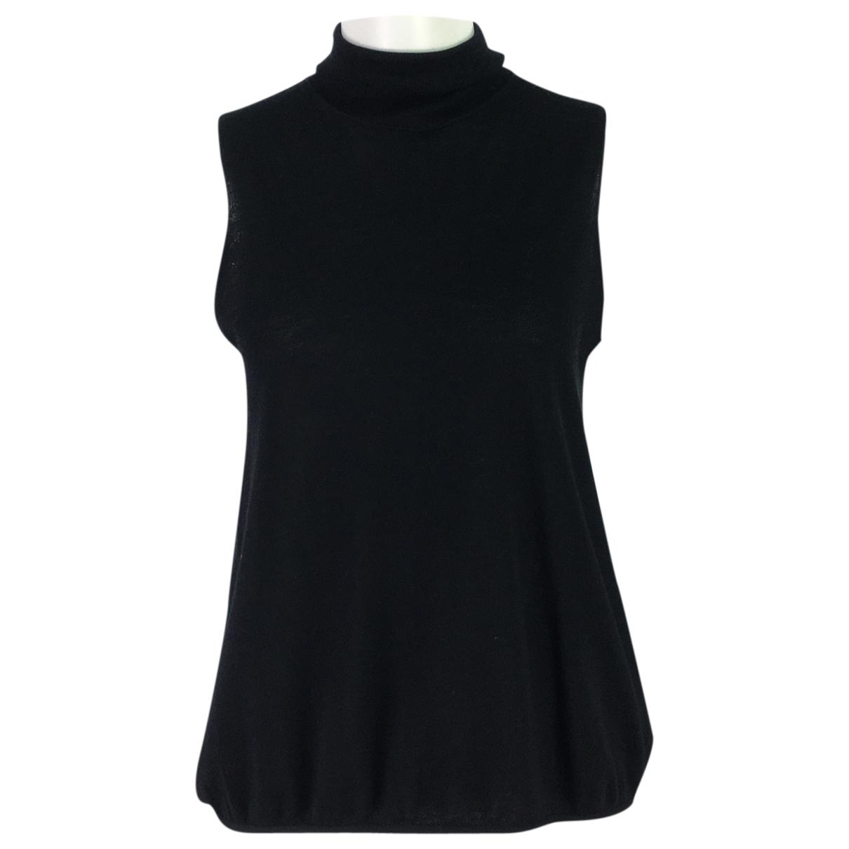 Max Mara \N Black Wool  top for Women XL International