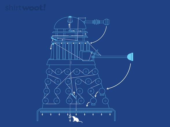 Dalektable Exterminator T Shirt