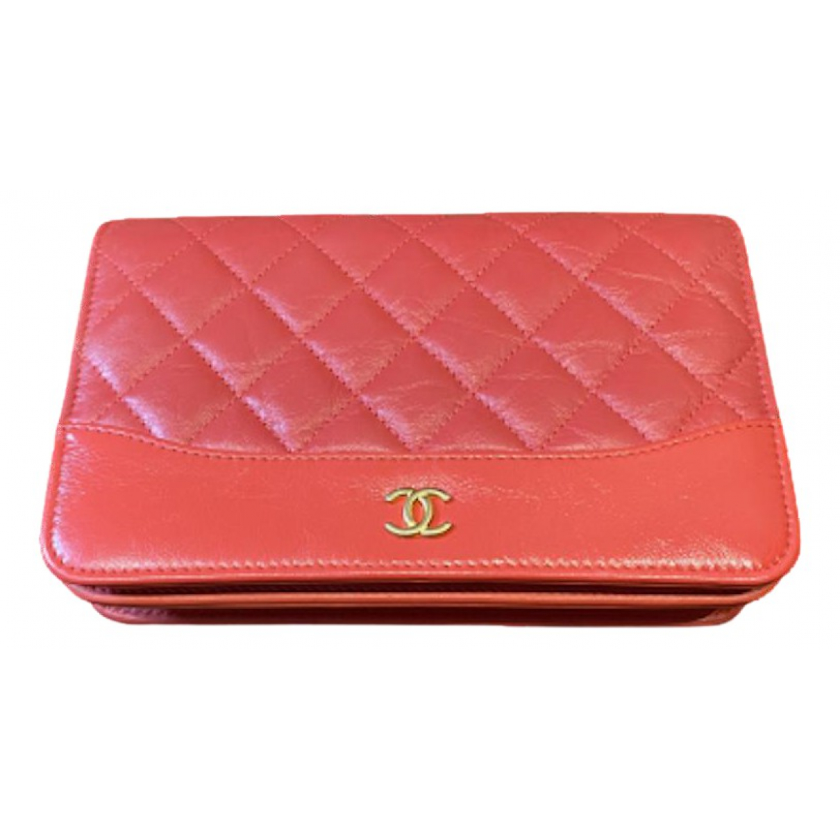 Chanel Wallet on Chain Pink Leather handbag for Women N
