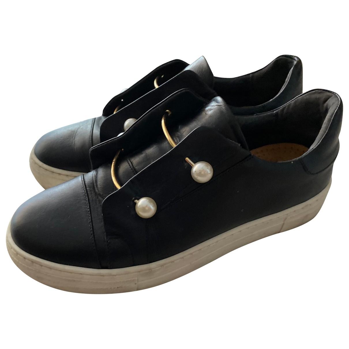 Jonak - Baskets   pour homme en cuir - noir