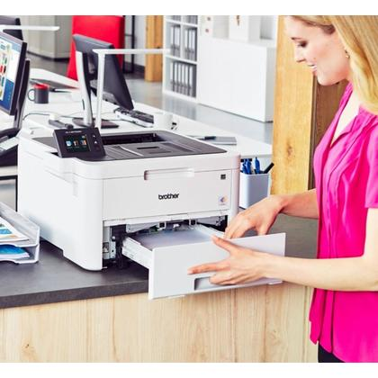 Brother HL-L3270CDW Compact Digital Color Printer with Wireless and Duplex Printing